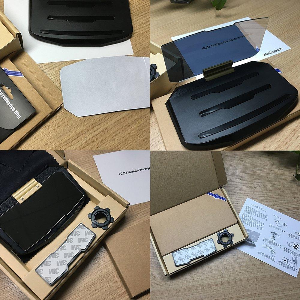 ONX3 Xiaomi Mi Mix Universal Car HUD Holder Bracket For Mobile Phone Display GPS Navigation Image Reflector Head Up Display Projector