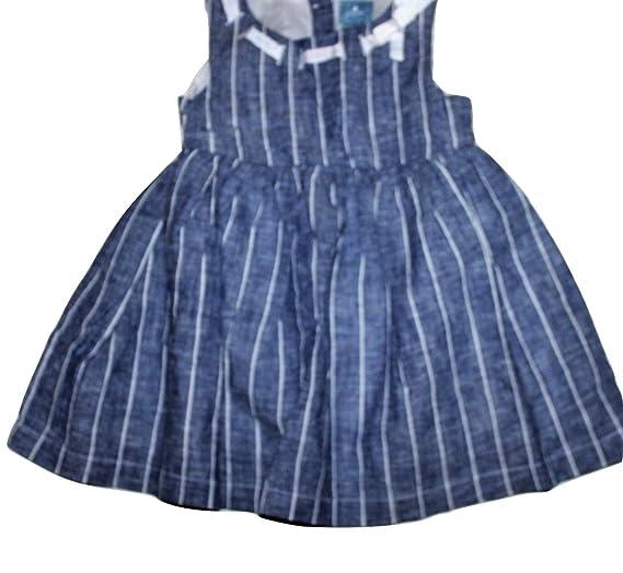 9512baa223c Amazon.com  baby Gap Infant Girl s Chambray Denim Dress (12-18 Mo ...