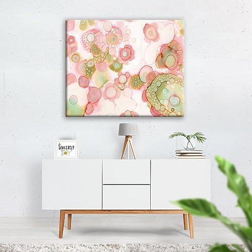 Amazon.com: Organic Abstract Wall Art Canvas Print Shabby Chic ...