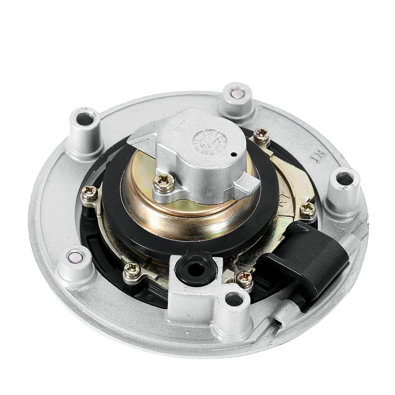 INNGLOW Motorcycle Fuel Gas Tank Cap Lock Key Cover Fits For Suzuki SV1000 650 GSF1250 GSX-R 1000 600 750 GSR 400 600 GSX 650F SFV 650 GLADIUS 2009 GSX 1250 300R HAYABUSA B-King BK1300