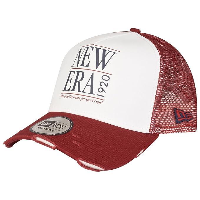 New Era - Gorra de béisbol - para Hombre Blanco, Rojo Una Talla ...