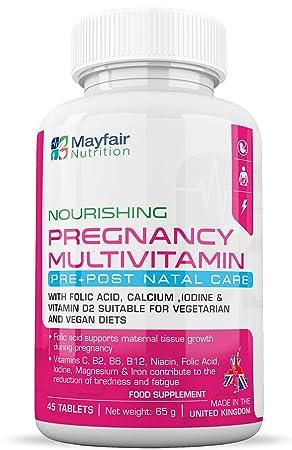 Compuesto multivitamínico para el embarazo | Fórmula de ...