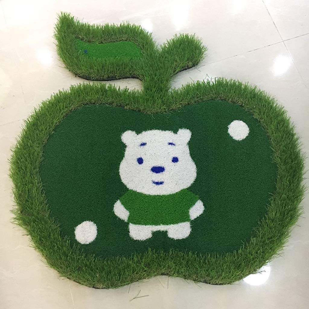 Hyzb Golf Mat Indoor Mini Pad Teaching Pusher Manta Práctica ...