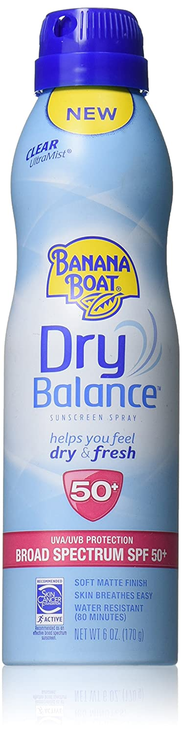 Banana Boat Sunscreen Dry Balance Broad Spectrum Sunscreen Spray, SPF 50+ - 6 Ounce Energizer Personal Care X300738200