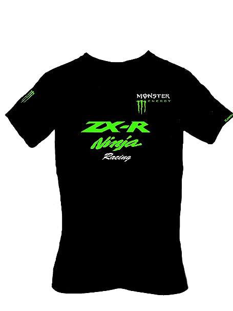 Kawasaki - Camiseta - para hombre negro negro S