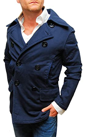 bee1fe35c0ca Image Unavailable. Image not available for. Color  Polo Ralph Lauren Rugby  Mens Peacoat Jacket ...