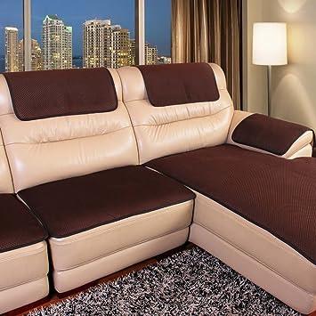 MEHE@ Romantik Stilvoll Persönlichkeit Kreativ Leder Sofa Kissen  Anti Rutsch Vier Jahreszeiten Gemeinsame Kissen