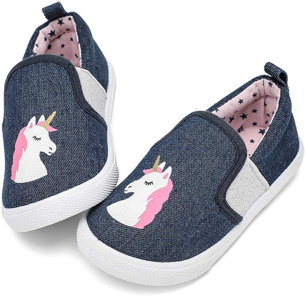nerteo Toddler Cute Shoes Slip on