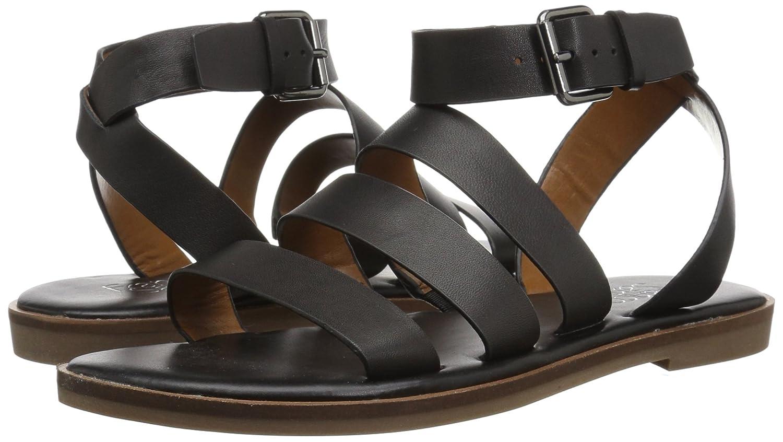 Franco Sarto Women's Kyson Flat Sandal B078V91J21 8 B(M) US|Black
