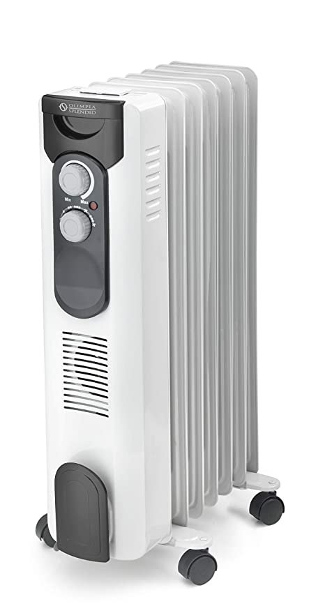 Olimpia Splendid 99620 Caldorad 7 Radiador de Aceite 1500 W, 50 m³