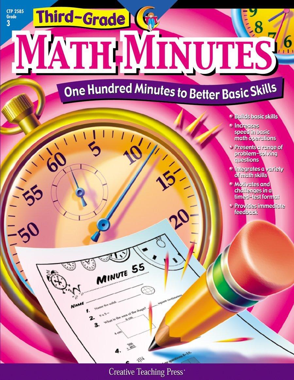 Workbooks 9th grade summer workbooks : Amazon.com: Math Minutes, 3rd Grade (CTP 2585) (7544580293153 ...