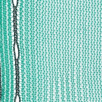 2,57 x 10m 50gr//m/², gr/ün Ger/üstnetz Staubnetz Ger/üstschutznetz