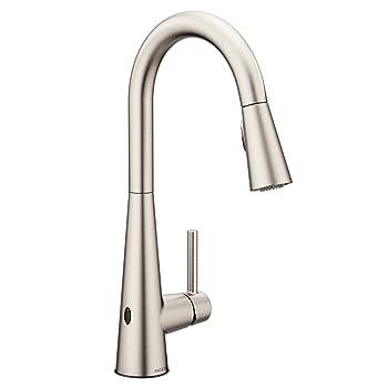Moen 7864EWSRS High-arc Kitchen Faucet
