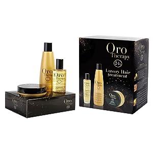Kit Luxury Hair Treatment – Oro Therapy – Fanola