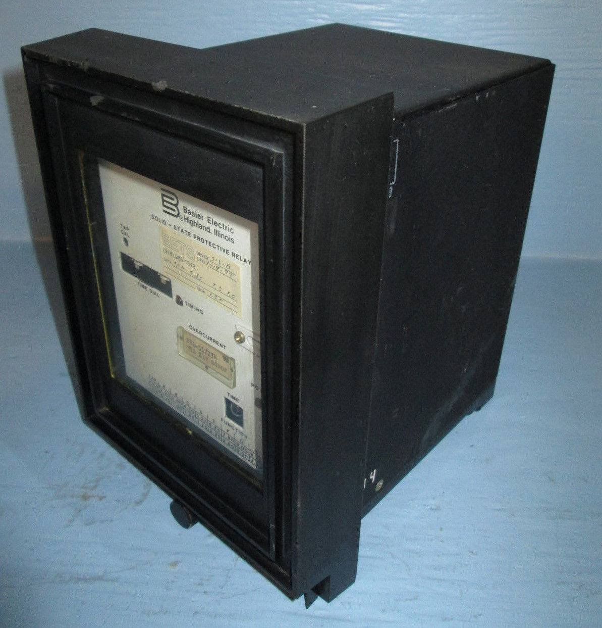 Basler Electric Be1 51 27r Overcurrent Relay M1e Z1p B0n0f Be15127r Electromagnetic Computer Solid State Industrial Scientific