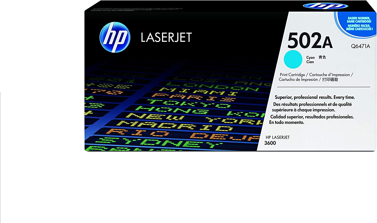HP 502A | Q6471A | Toner Cartridge | Cyan