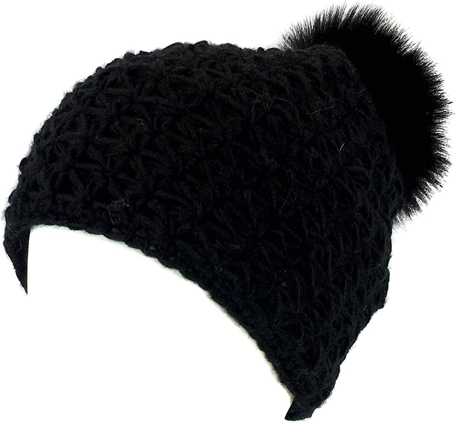 Hello Spring Rabbit Cute Ski Cap Mens and Womens 100/% Acrylic Knitting Hat Cap