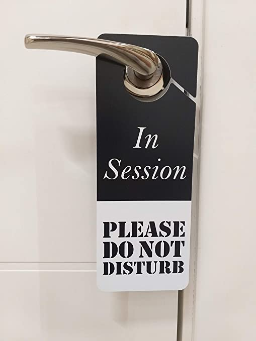 Amazon.com: No molestar señal – en sesión de entrada ...
