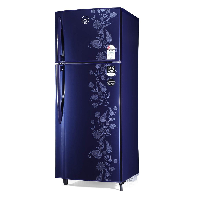Godrej 255 L 2 Star Inverter Frost-Free Double Door Refrigerator (RF EON 255B 25 HI RY DR, Royal Dremin)