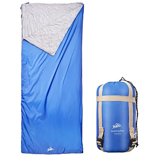 HiHiLL Sleeping Bag - Lightweight Portable, Waterproof, Traveling, Hiking Activities, Camping, with Storage Bag