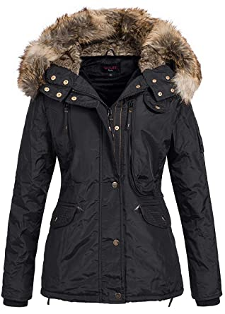 Winterjacken schwarz fur damen