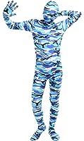 Ensnovo Adult Lycra Spandex Camouflage Full Body Zentai Suit Costume