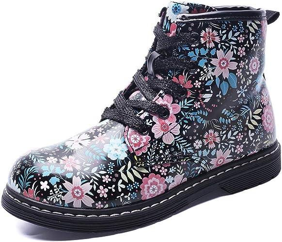Boys Girls Waterproof Winter Warm Ankle Boots Zipper Cute Casual Shoes Toddler//Little Kid