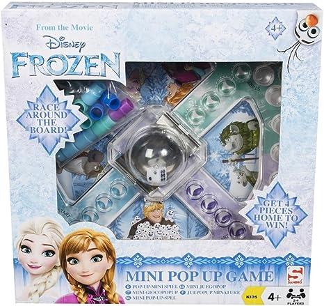 Disney Sambro Frozen - Mini Juego de Mesa: Amazon.es: Juguetes y juegos