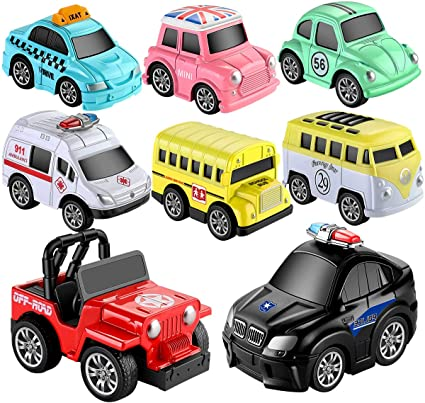 8 Piece Police Set fun toys children gift novelty collectables