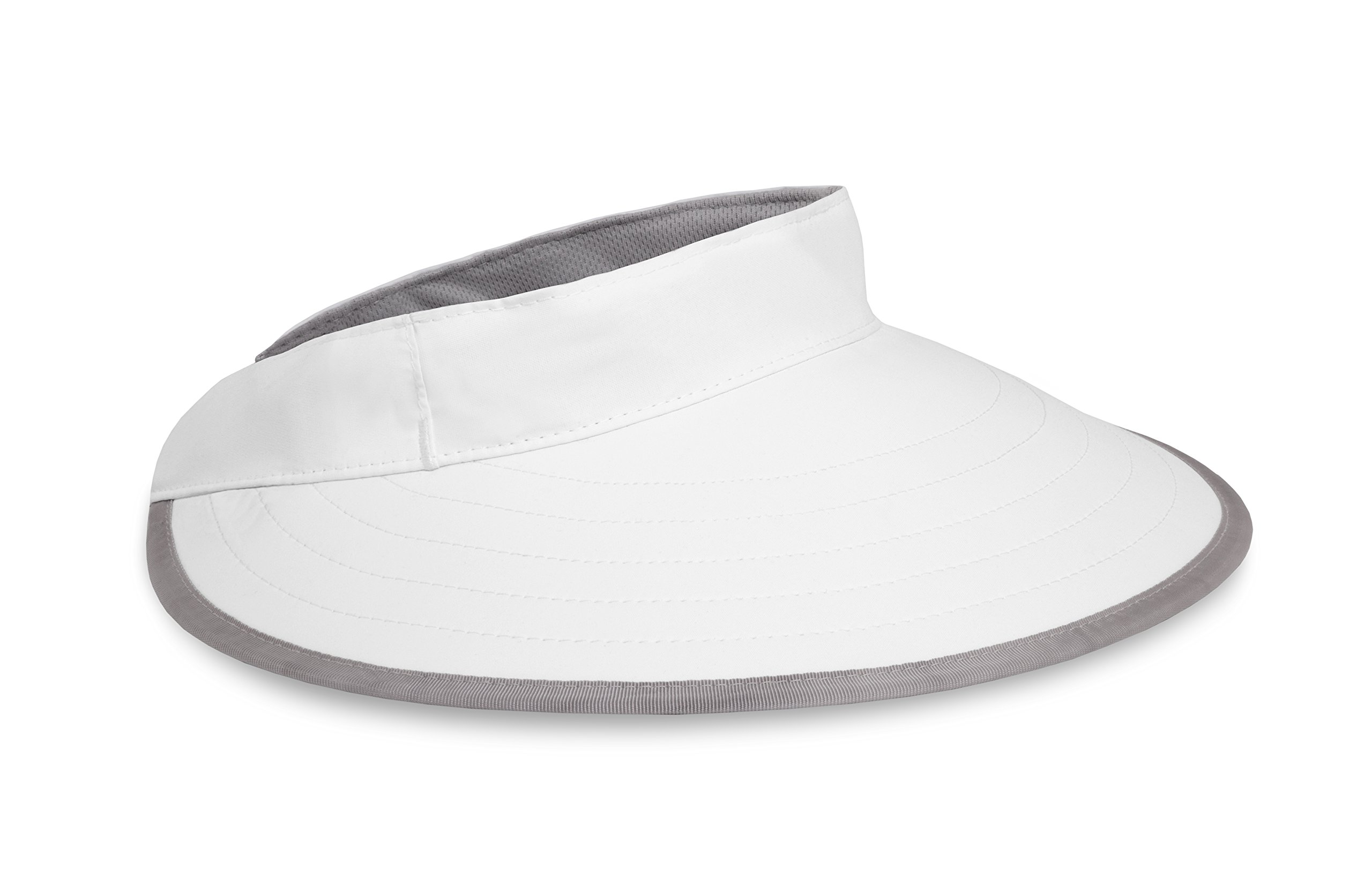 Sunday Afternoons Sport Visor, White, One Size by Sunday Afternoons