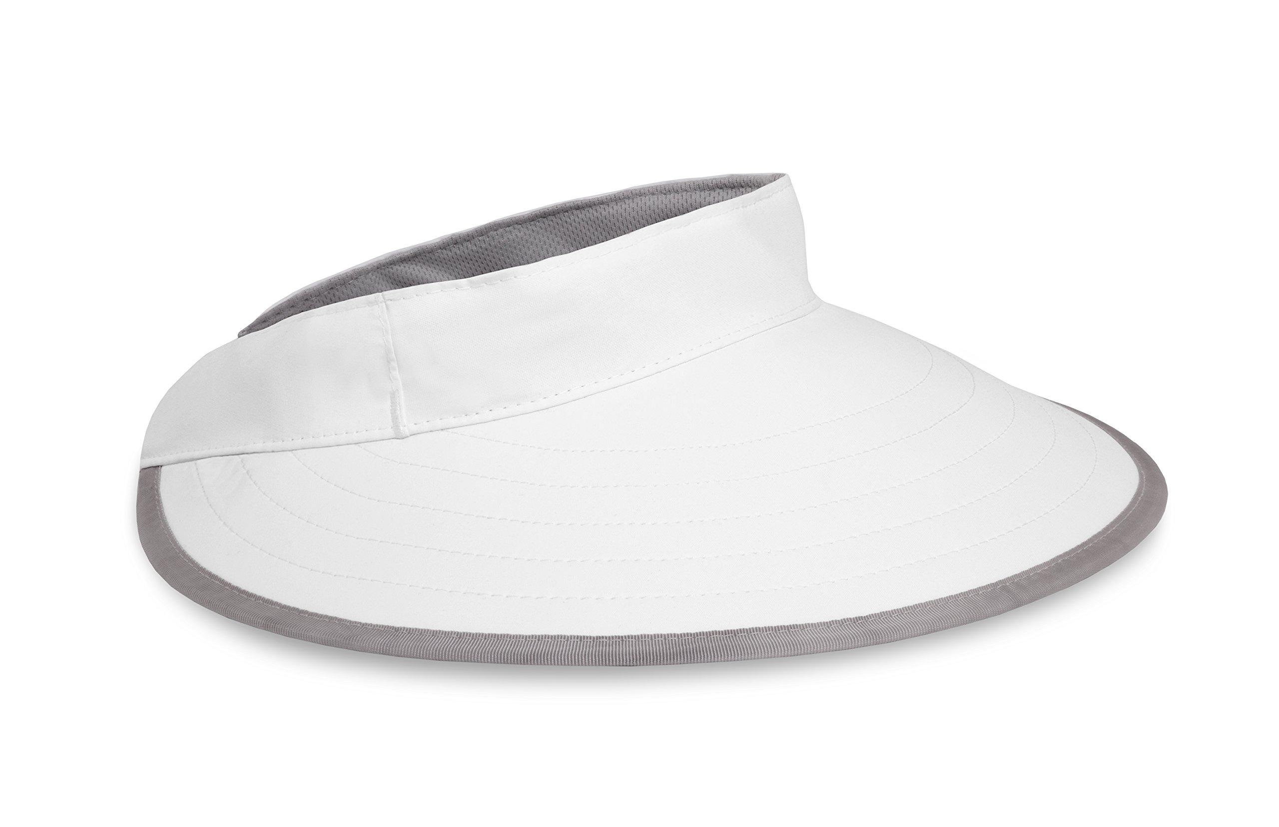 Sunday Afternoons Sport Visor, White, One Size