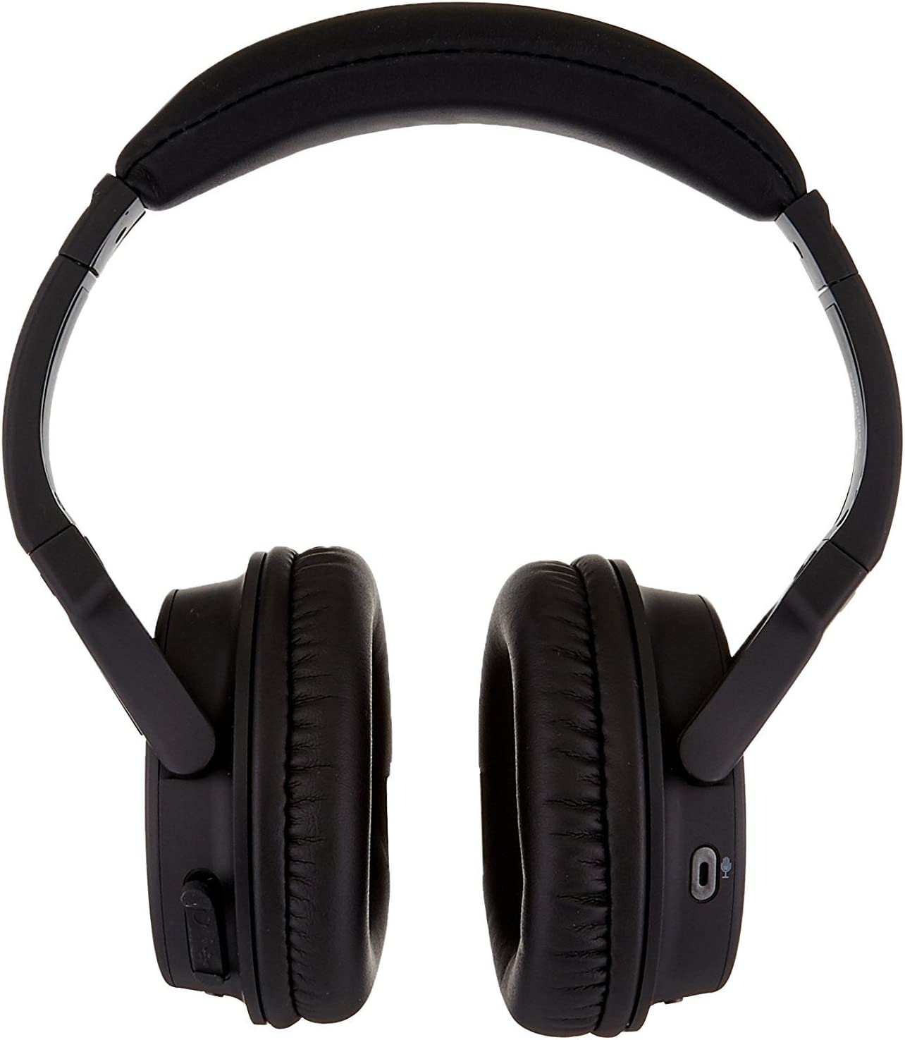 Black A1 Bluetooth 4.1 Headphones with Built-in Mic and 12 Hour Battery