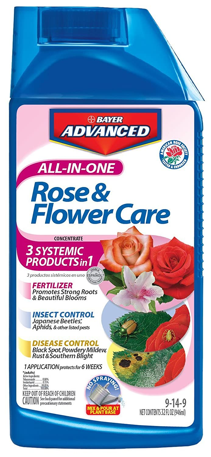 Bayer Advanced 701260 All-In-One Rose and Flower Care Concentrate Review