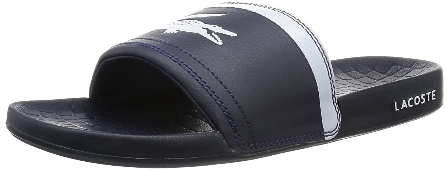 bc59da783601 Lacoste Men s Frasier Brd1 Open Back Slippers  Amazon.co.uk  Shoes   Bags