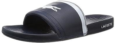 04ed579da3e00b Amazon.com  Lacoste Men s Fraisier BRD1 Leather Synthetic Slip On ...