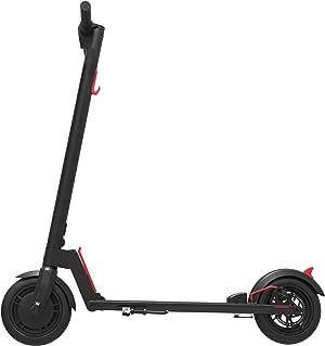 "GOTRAX GXL V1 Commuting Electric Scooter - 8.5"" Air Filled Tires - 15.5MPH & 9-12 Mile Range - Version 1 (Black)"