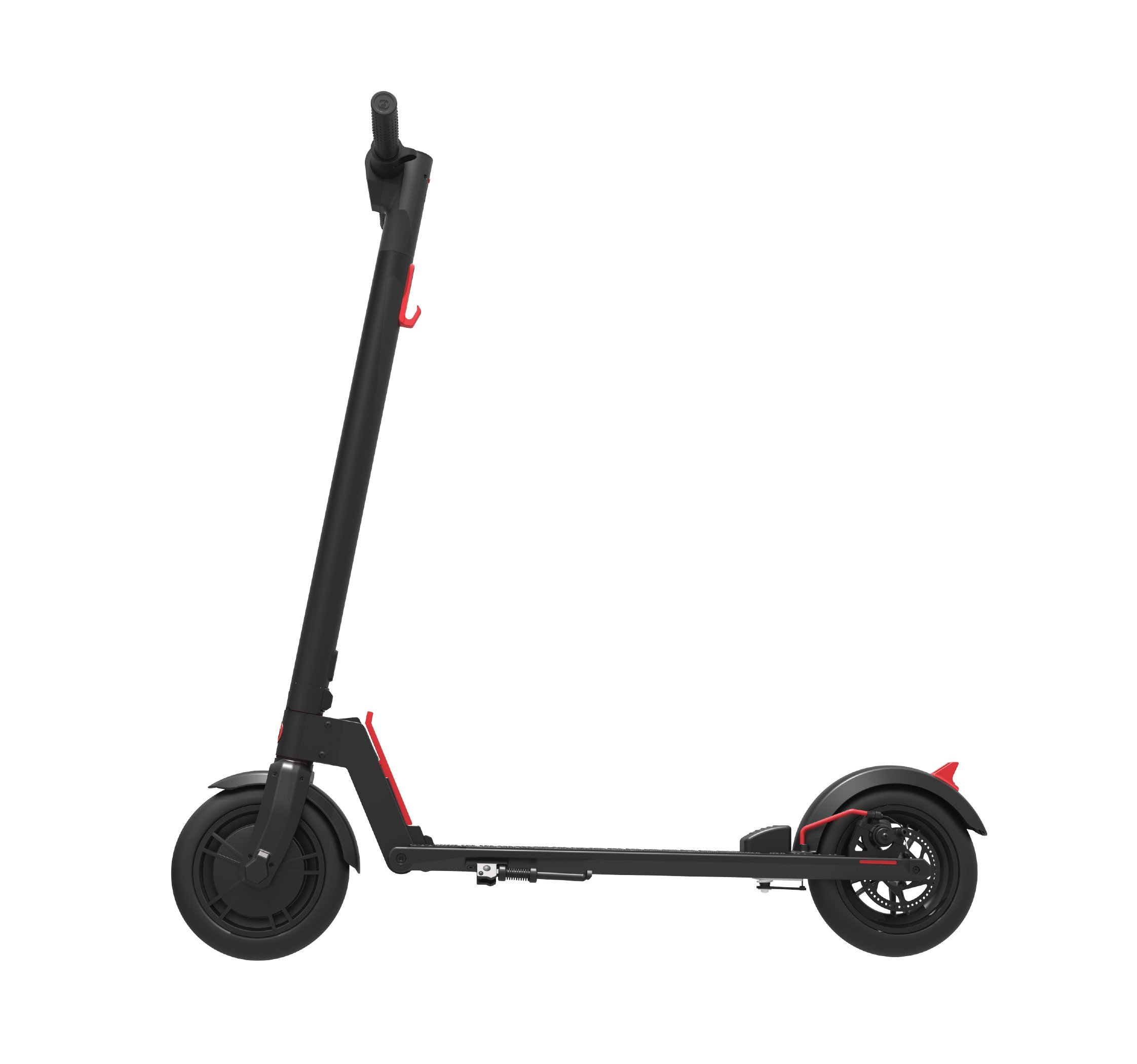 GOTRAX GXL Commuting Electric Scooter - 8.5'' Air Filled Tires - 15.5MPH & up to 12mile Range (Black)