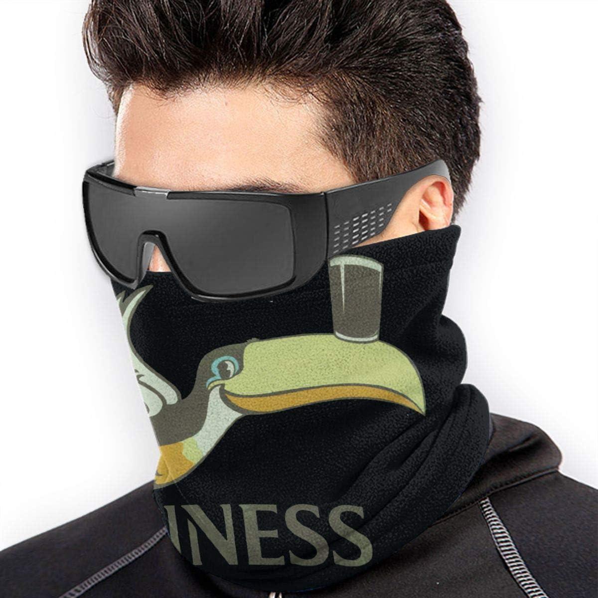 SYSFOUR Guinness Unisex Microfiber Face Ma-sk Neck Gaiter Sun Protection Dust Headwear Balaclava