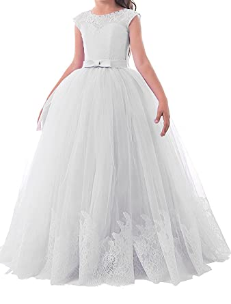 f490ff110d MarryingHoney Lisa Lace Flower Girl Dress First Communion Dress Princess  For Wedding LS074