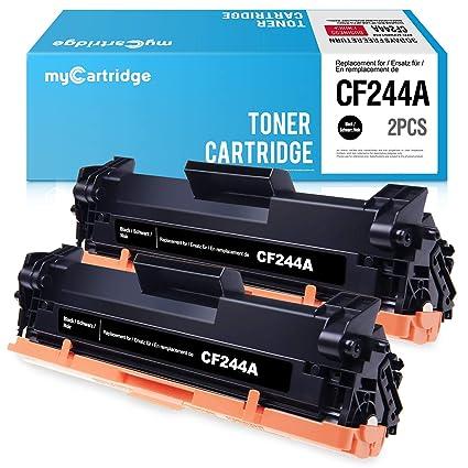 Mycartridge 2 Pack Compatible HP 44A CF244A Cartucho de Tóner ...