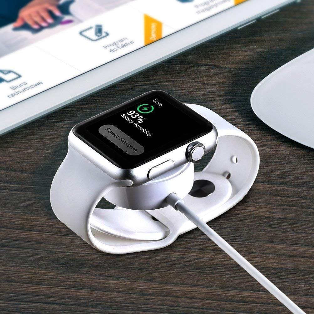 Apple Watch Charger, Charging Cable for Apple Watch/iWatch, Magnetic Wireless Charger USB Charging for Apple Watch Series 2/3/Nike+/Edition by Saleward (Image #7)