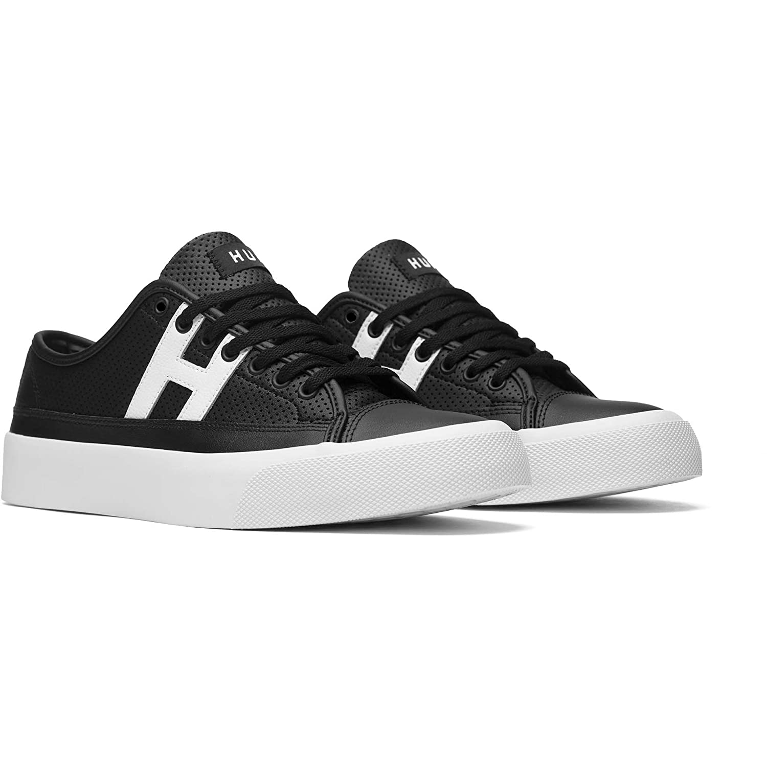 HUF Skateboard Shoes Hupper 2 Low Black/White 13 D(M) US|Black/White
