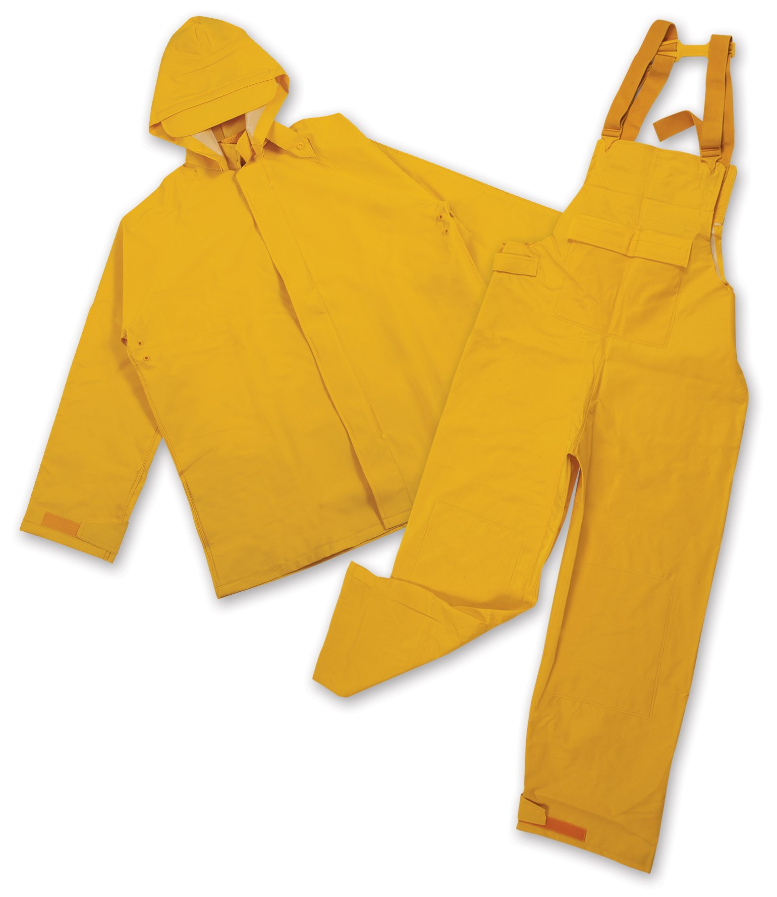 Stansport Commercial Rainsuit, Yellow, XX-Large by Stansport