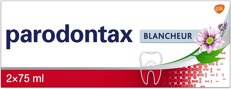 Parodontax Dentifrice Blancheur, Contre le Saignement Occasionnel des Gencives, Format..