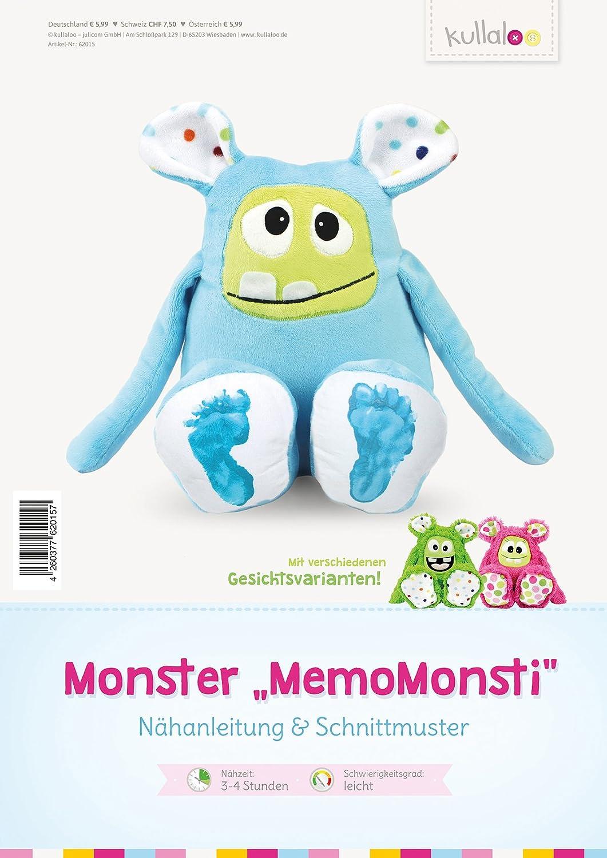 kullaloo Nähanleitung & Schnittmuster für Monster \