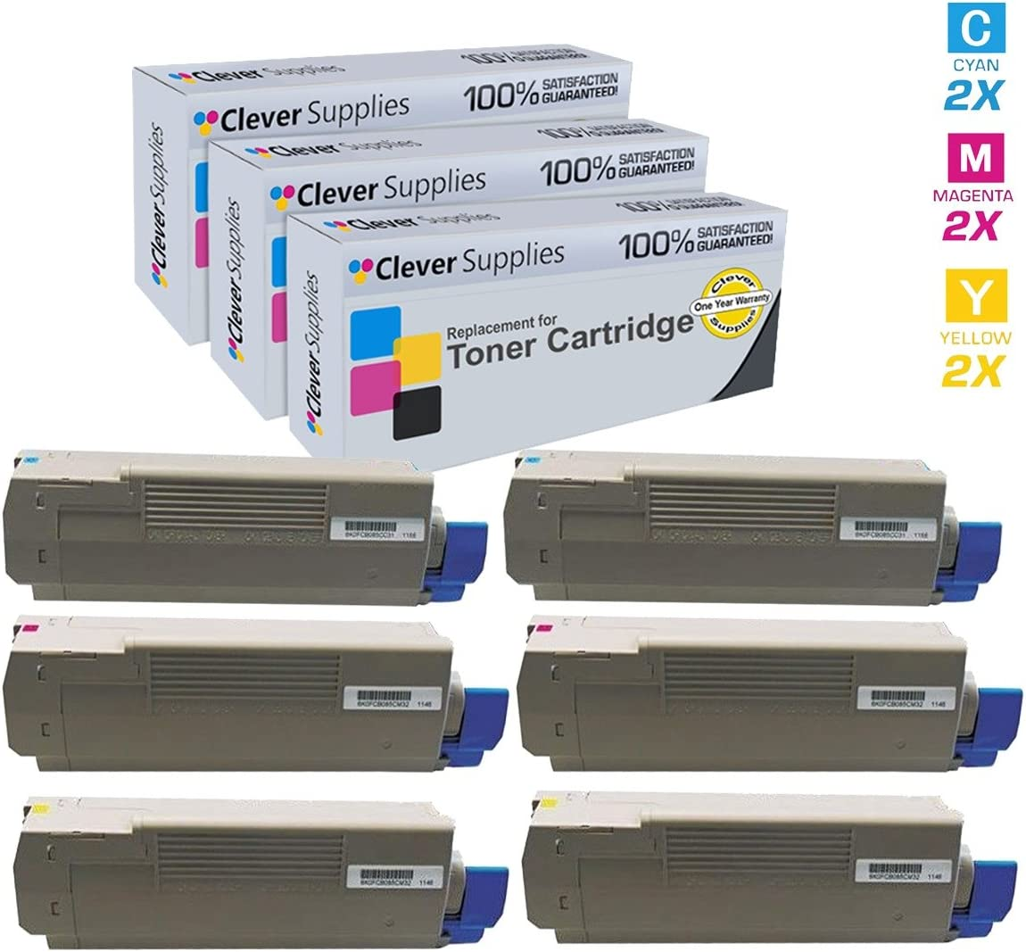 C610DN Cyan Works with: C610 On-Site Laser Compatible Toner Replacement for Oki-Okidata 44315303