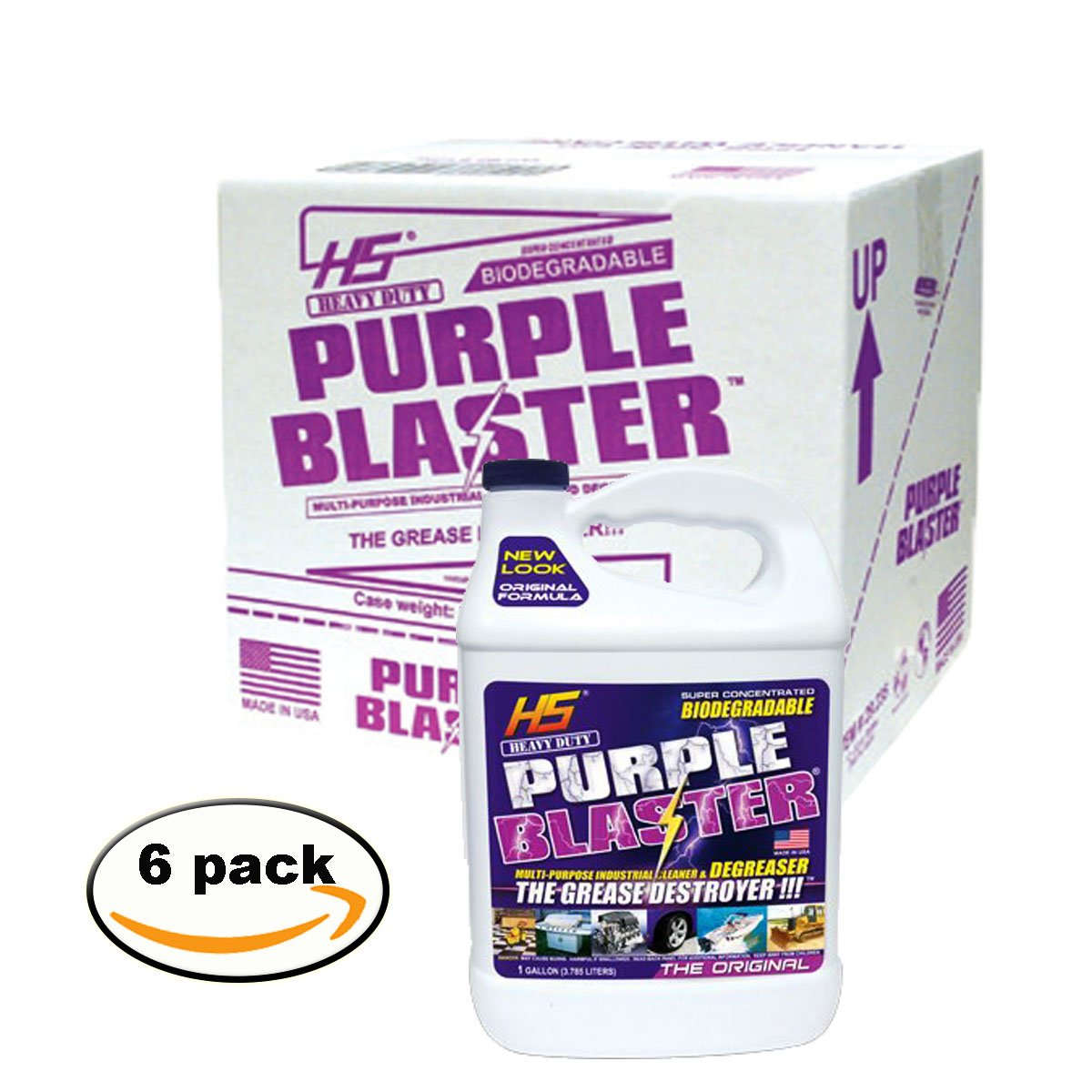 Purple Blaster degreaser (Case of 6, 1 Gallon)