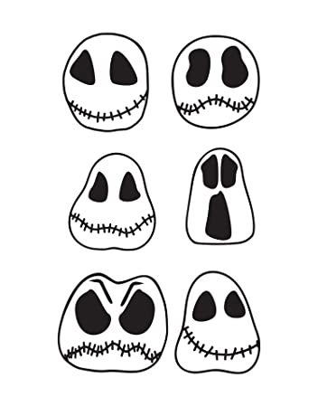 Ghost Skull Decals