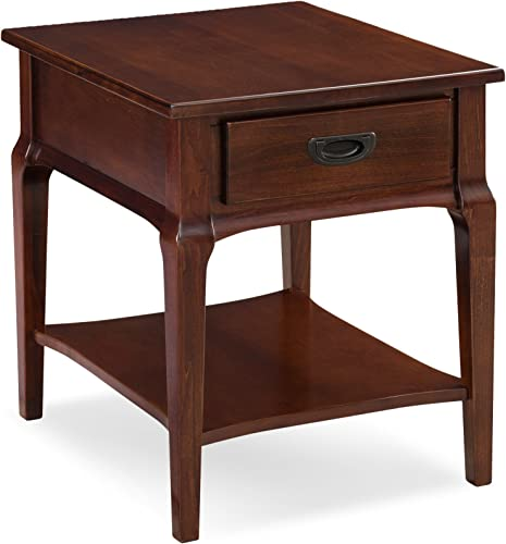 Leick Contemporary Stratus Drawer End Table