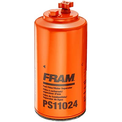 FRAM PS11024 Heavy Duty Spin-On Fuel/Water Separator Filter: Automotive